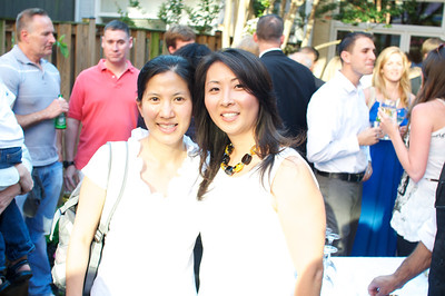 Melissa Chen, Ju Yon Yu, Evers & Co. Spring Art Show in Dupont.  Photo by Ben Droz.