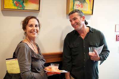 Julie Heifetz, John Simpkins-Camp Evers & Co. Spring Art Show in Dupont.  Photo by Ben Droz.