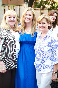 Pat Kennedy, Maggie Coakley, Delia McCormick,  Evers & Co. Spring Art Show in Dupont.  Photo by Ben Droz.