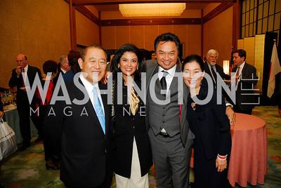 Amb.  Ichiro Fujisaki, Rosa Djalal,Amb.Dino Djalal Yoriko Fujisaki,November 7,2012,Farewell to the Fujisakis,Kyle Samperton