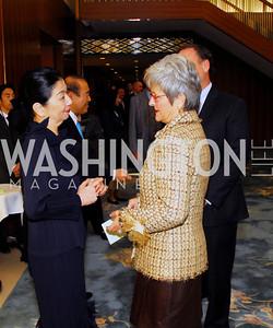 Yoriko Fujisaki, Amb.Ichiro Fujisaki,Matha Ann Alito,November 7,2012,Farewell to the Fujisakis,Kyle Samperton
