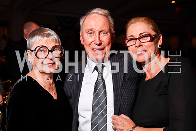 Aimee Robert, Jim Kimsey, Christine Robert. Photo by Tony Powell. Fight Night. Hilton Hotel. November 1, 2012