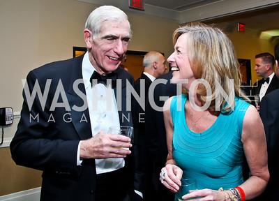 C. Boyden Gray, Tina Kearns. Photo by Tony Powell. Fight Night. Hilton Hotel. November 1, 2012