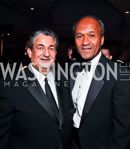 Ted Leonsis, Frank Raines. Photo by Tony Powell. Fight Night. Hilton Hotel. November 1, 2012