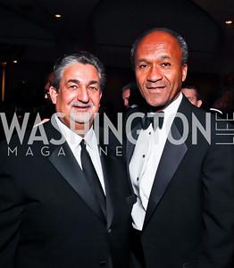 Ted Leonsis, Frank Raines. Photo by Tony Powell. Fight Night. Hilton Hotel. November 1, 2012