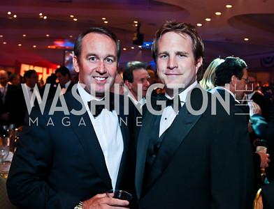 Chris Donatelli, John Groth. Photo by Tony Powell. Fight Night. Hilton Hotel. November 1, 2012