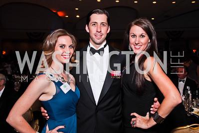 Jo Holland, Joe Robert III, Trina Campbell. Photo by Tony Powell. Fight Night. Hilton Hotel. November 1, 2012