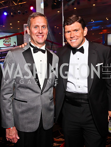 William McComb, Bret Baier. Photo by Tony Powell. Fight Night. Hilton Hotel. November 1, 2012