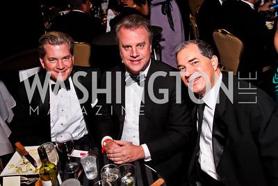 Nels Olson, Curtin Winsor, Jim Abdo.  Photo by Tony Powell. Fight Night. Hilton Hotel. November 1, 2012