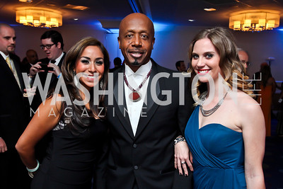Ariel Lewis, MC Hammer, Jo Holland. Photo by Tony Powell. Fight Night. Hilton Hotel. November 1, 2012