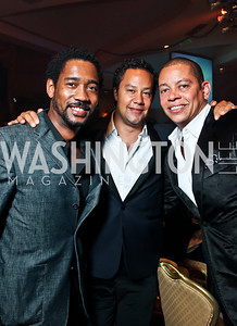 James Woodyard, David Sutphen, Roger Richmond. Photo by Tony Powell. Fight Night. Hilton Hotel. November 1, 2012