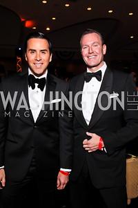 Will Thomas, Barry Dixon. Photo by Tony Powell. Fight Night. Hilton Hotel. November 1, 2012