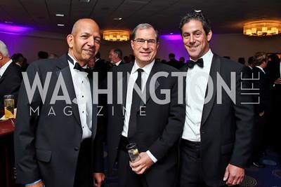 Tony Williams, Jim Abdo, Brad Dockser. Photo by Tony Powell. Fight Night. Hilton Hotel. November 1, 2012