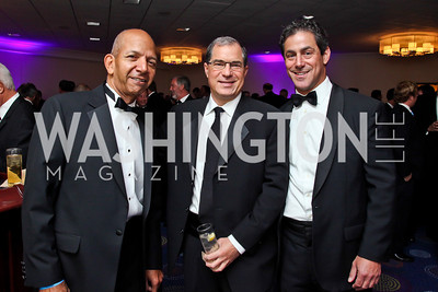 Tony Williams, Jim Abdo, Brad Dockser. Photo by Tony Powell. Fight Night. Hilton Hotel. November 1, 2012