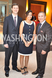 "Franco Impalà, Ingrid Impalà, Ray Mancini Fight For Children's kickoff for Fight Night at the Italian Embassy.  Premier of the documentary ""The Good Son"", tells the story of Ray 'Boom Boom' Mancini.  Photo by Ben Droz"