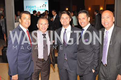 "Ray Mancini, Zachary Leonsis, Christopher Tavlarides, Jimmy Lynn, Fight For Children's kickoff for Fight Night at the Italian Embassy.  Premier of the documentary ""The Good Son"", tells the story of Ray 'Boom Boom' Mancini.  Photo by Ben Droz"