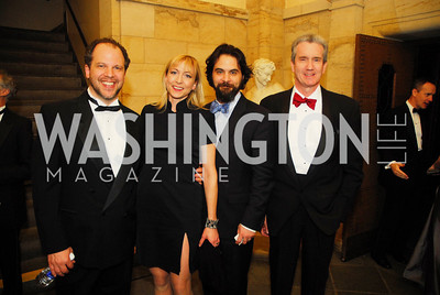 Aaron Posner,Kate Eastwood Norris,Cody Nickell,Dan Connolly,April 18.2012,Folger Gala,Kyle Samperton