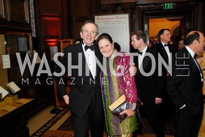 Stephen Weisswasser,Andrea Weiswasser,April 18.2012,Folger Gala,Kyle Samperton