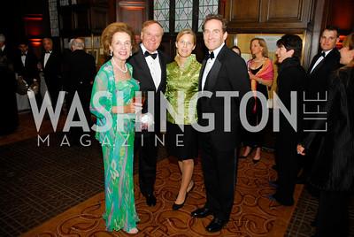 Ellen Doer,Peter Doer,Kathy Ewald,Thomas Ewald,April 18.2012,Folger Gala,Kyle Samperton