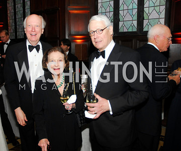 Bill Garrison,Mary Weinman,Stephen Dennis,April 18.2012,Folger Gala,Kyle Samperton