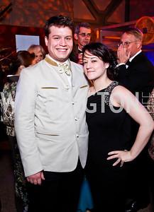Charles Nitze, Marina Martin. Photo by Tony Powell. Freer|Sackler 25th Anniversary Gala. November 29, 2012