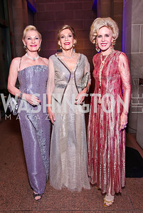 Susan Pillsbury, Dame Jillian Sackler, Ann Nitze. Photo by Tony Powell. Freer|Sackler 25th Anniversary Gala. November 29, 2012