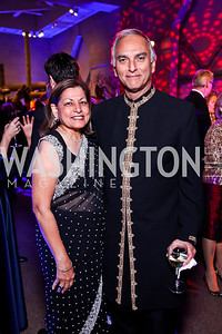 Rama and Arun Deva. Photo by Tony Powell. Freer|Sackler 25th Anniversary Gala. November 29, 2012