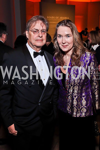 Andrew and Leslie Cockburn. Photo by Tony Powell. Freer|Sackler 25th Anniversary Gala. November 29, 2012
