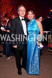 Jim and May Liang Lintott. Photo by Tony Powell. Freer|Sackler 25th Anniversary Gala. November 29, 2012