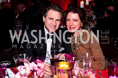 Arturo Brillembourg, Aniko Gaal Schott. Photo by Tony Powell. Freer|Sackler 25th Anniversary Gala. November 29, 2012