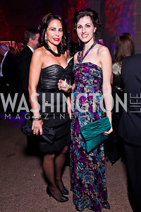 Laura Williams, Allison Peck. Photo by Tony Powell. Freer|Sackler 25th Anniversary Gala. November 29, 2012