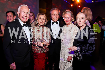 Mandy Ourisman, Helen Philon, Maximo Flugelman, Mary Ourisman, Vera Blinken. Photo by Tony Powell. Freer|Sackler 25th Anniversary Gala. November 29, 2012