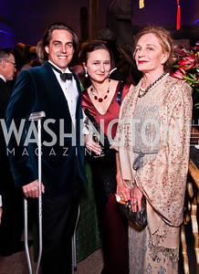 Nicholas and Maja DuBrul, Victoria Smith. Photo by Tony Powell. Freer|Sackler 25th Anniversary Gala. November 29, 2012