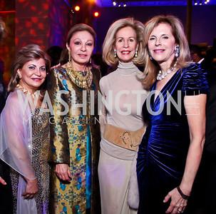 Annie Totah, Empress Farah Pahlavi, Bonnie McElveen-Hunter, Jane Cafritz. Photo by Tony Powell. Freer|Sackler 25th Anniversary Gala. November 29, 2012
