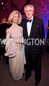 Bonnie McElveen-Hunter,, Nash Schott. Photo by Tony Powell. Freer|Sackler 25th Anniversary Gala. November 29, 2012