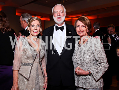 Dame Jillian Sackler, Wayne Clough, Nancy Pelosi. Photo by Tony Powell. Freer|Sackler 25th Anniversary Gala. November 29, 2012