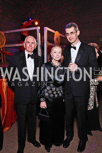 Ambassador Donald and Vera Blinken, Edmond DeWaal. Photo by Tony Powell. Freer|Sackler 25th Anniversary Gala. November 29, 2012