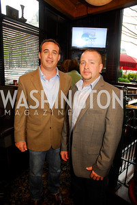 Jonathan Stovall,Gary Hefner,March 24,2012,GM  pre-reception at Elephant And   Castle for Watershed,Kyle Samperton