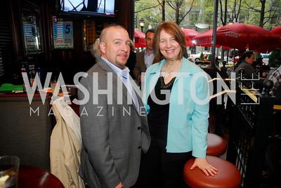 Gary Hefner,,Phyliis Kolmus,March 24,2012,GM  pre-reception at Elephant And   Castle for Watershed,Kyle Samperton