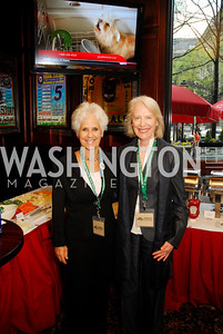Diane Straus,Flo Stone,March 24,2012,GM  pre-reception at Elephant And   Castle for Watershed,Kyle Samperton