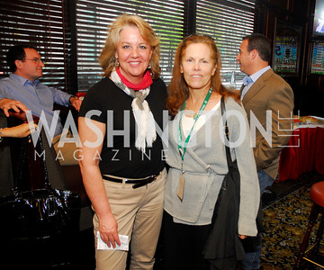 Mary Beth Staneck, Susan Vitka,,March 24,2012,GM  pre-reception at Elephant And   Castle for Watershed,Kyle Samperton