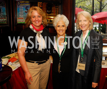 Mary Beth Staneck, Diane Straus,Flo Stone,March 24,2012,GM  pre-reception at Elephant And   Castle for Watershed,Kyle Samperton