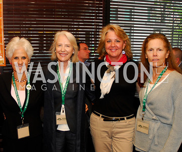 Diane Straus,Flo Stone,,Mary Beth Stapnek,Susan Vitka,March 24,2012,GM  pre-reception at Elephant And   Castle for Watershed,Kyle Samperton