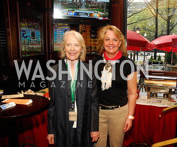 Flo Stone,Mary Beth Staneck,March 24,2012,GM  pre-reception at Elephant And   Castle for Watershed,Kyle Samperton