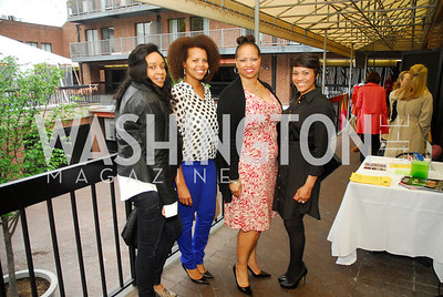 Raina Woodruff,Kenya Payton,Nicole Venable,Candance Tobin Sanders,April 18,2O12,Georgetown Sip and Sale,Kyle Samperton