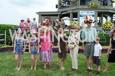 Hat Contest participants