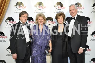 Mitchell and Patti Herman,  Adriane and Stephen Thormahlen