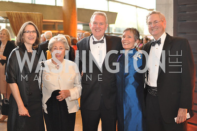 Barbara Wells, Margot Kelly, Tommy Wells, Susan Clampitt, Steve Bralov Arena Stage hosted their annual Golden Gala