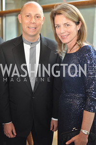 Greg Pascal and Debbie Sczudlo  Arena Stage hosted their annual Golden Gala