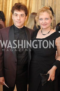 David Bruce Smith, Elana Lippa, Arena Stage hosted their annual Golden Gala
